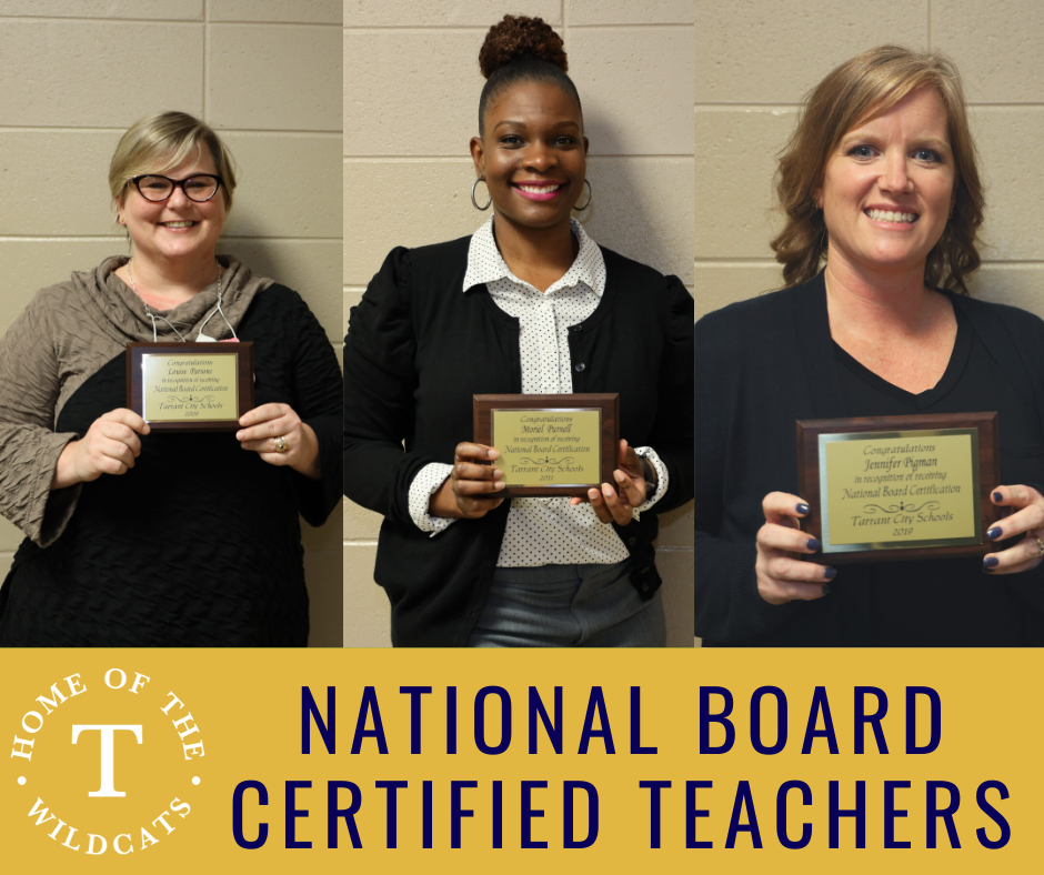 TCS recognizes National Board Certified Teachers
